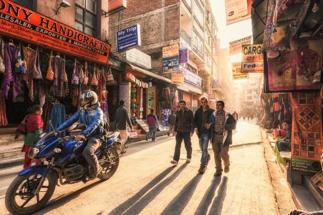 The streets of Kathmandu @Esmar Abdul Hamid