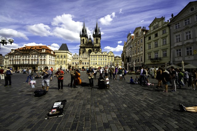 Prague city center @Nitin Vyas/flickr