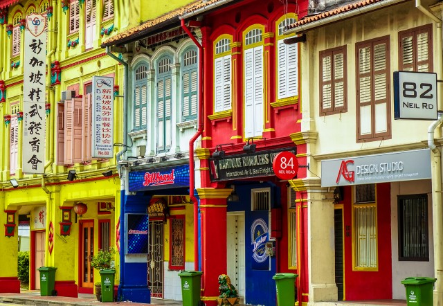 Colorfoul houses©Luke Ma/flickr