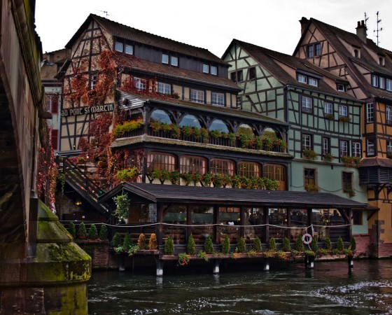 An example of Strasbourg architecture @Marja van Bochove/flickr