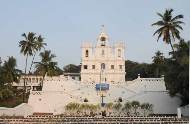Panaji Church in Old Goa Koshy Koshy/flickr