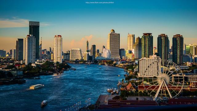 Bangkok,Chaophraya River ©Prachanart Viriyaraks