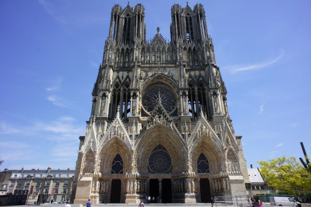 Reims Cathedral as its finest @barnyz/flickr