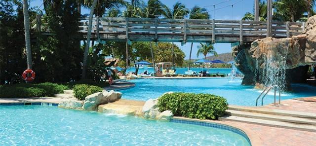 Pool view at Dream Sugar Bay Resort
