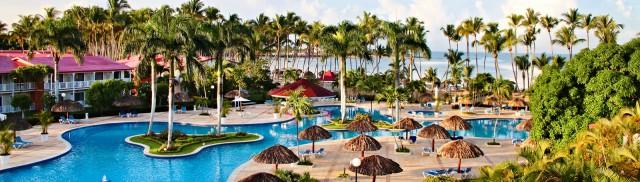 Pool view at Grand Bahia Principe