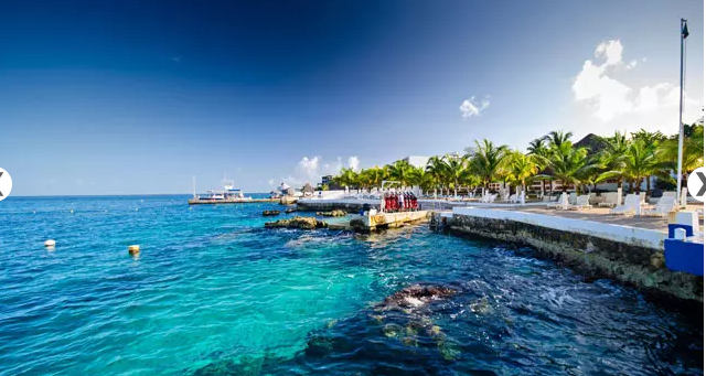 Hotel Cozumel and Resort - pier view