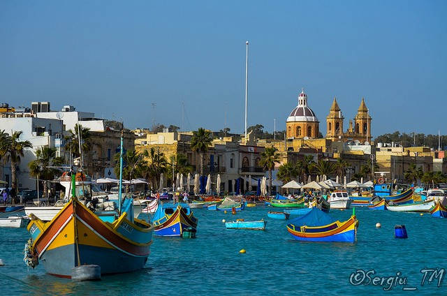 The picturesque Maltese fishing village of Marsaxlokk ©Sergiu_TM/flickr