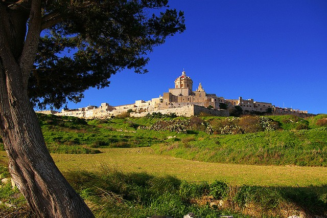 The landscape of Mdina along with the old town itself K B/flickr