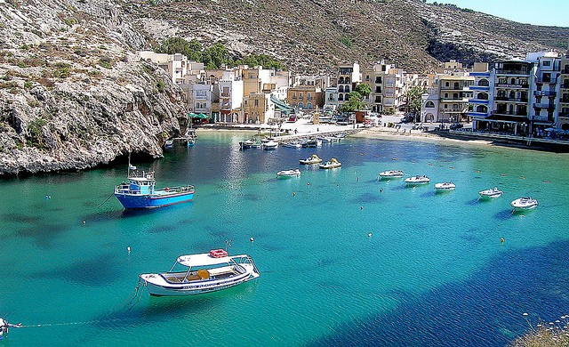 Xlendi Bay, a quintessential Maltese resort and view Paul Scicluna/flickr