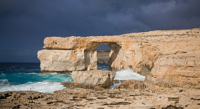 Azure Window, typical Maltese scene, Gozo as its finest. Never House/flickr