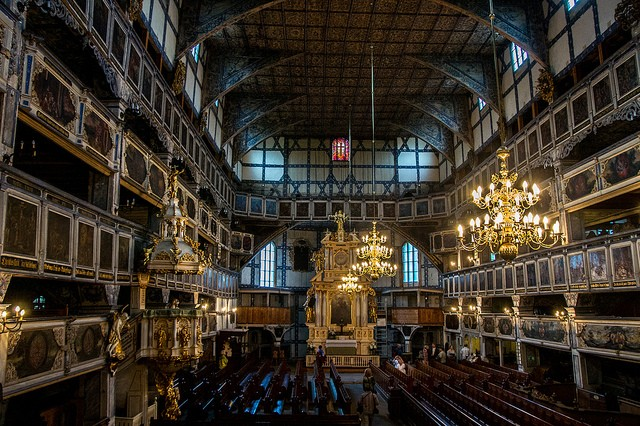 Jawor Church Interior Andrzej/flickr