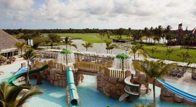 Kid's pool at Barcelo Bavaro Palace Deluxe