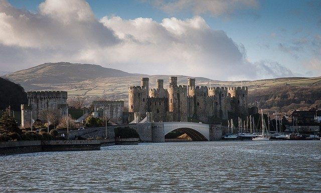 The lovely castle of Conwy, Wales as its finest, the town is also a noteworthy visitRuth/flickr