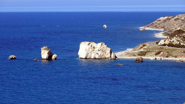 Aphrodite's Rock, According to a legend, this was the birthplace of Aphrodite ©xlibber/flickr
