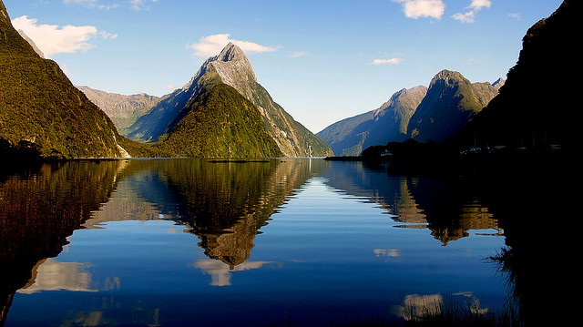 The notorious Milford Sound, an extraordinary Kiwi site Bernard Spragg. NZ/flickr