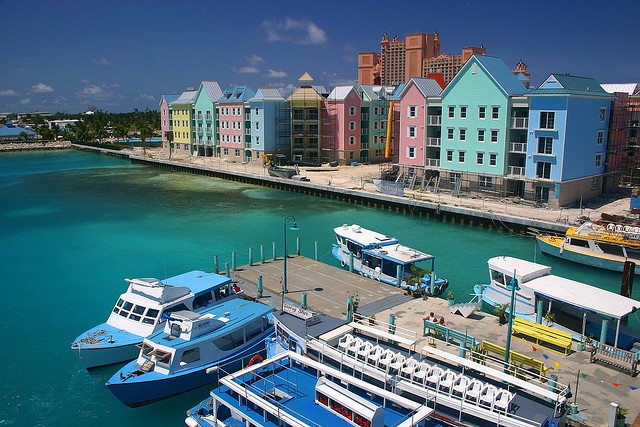 Nassau, The capital of Bahamas lies on the largest island of Bahamas, New Providence ©Dave Johnson/flickr