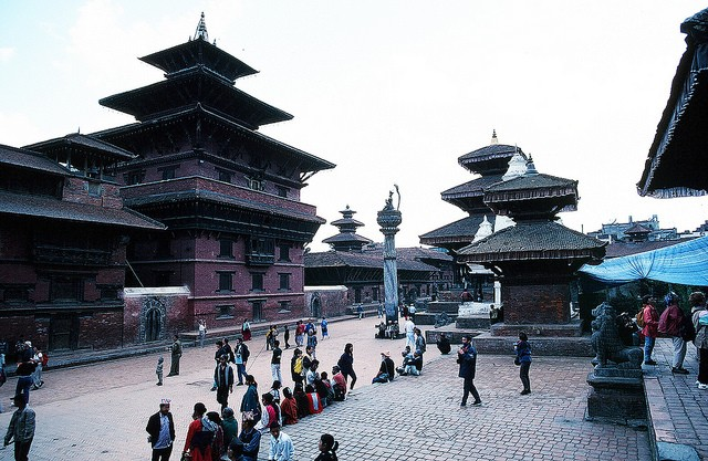 Kathmandu before the Earthquake Terry Feuerborn/flickr