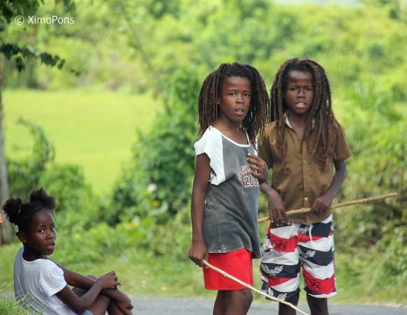Jamaican children that are part of the Rastafarian movement ©joaquin Pons Sampedro/flickr
