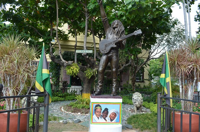 The Bob Marley Museum in Kingston. One of the well known founding fathers of Reggae was born here ©Kent MacElwee/flickr