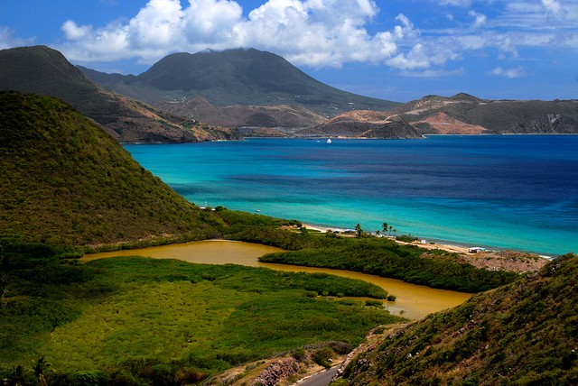 Mongoose Beach, St Kitts. One of the islands finest sights and beaches ©Doug Bank/flickr
