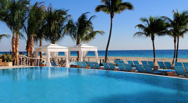 B Ocean Resort Fort Lauderdale - pool view