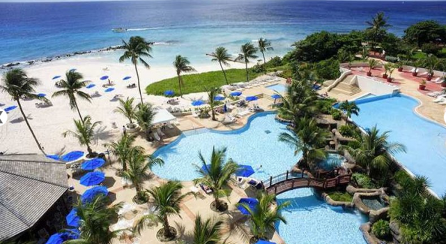 Hilton Barbados Resort - beach view