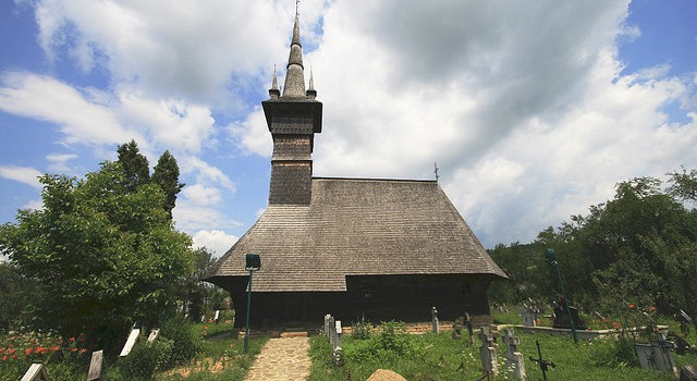Ieud Wooden Church Tudor Seulean