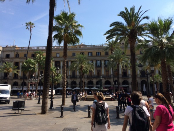Placa Reial as its finest