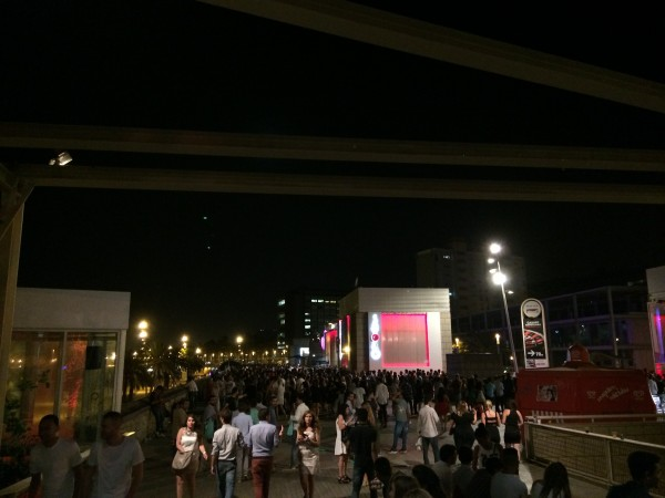 A part of the nightlife scene on Port Olimpic, Barcelona has an excellent nightlife