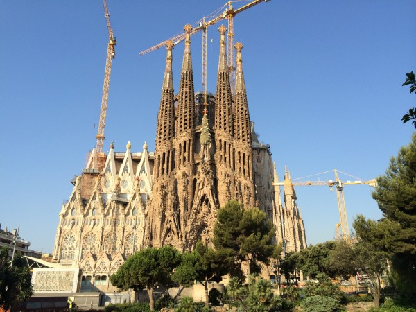 The Sagrada Familia, Gaudi's top masterpiece