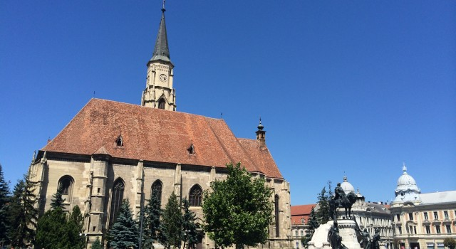 Before headed to Maramures, Cluj Napoca was the very first pit stop. Matthias Church in the very heart of Cluj
