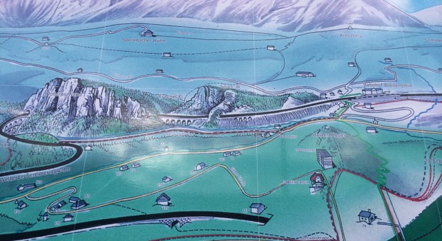 Here is the map that I shot at Semmering. The road itself is very adventurous and fun