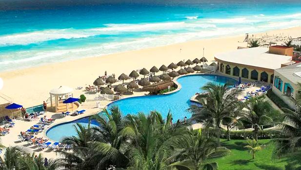 Beach at Golden Parnassus Resort and Spa