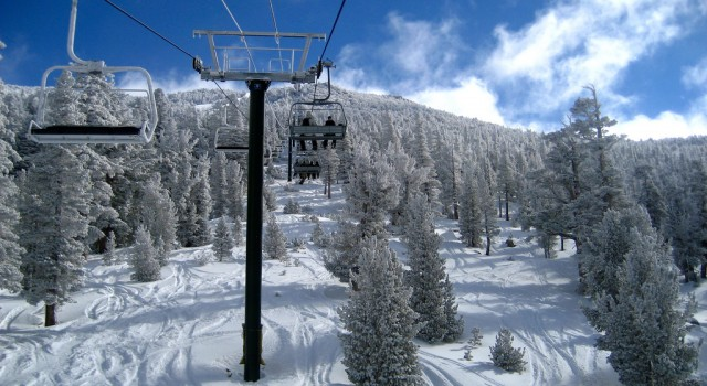 Lift at Heavenly Mountain Resort