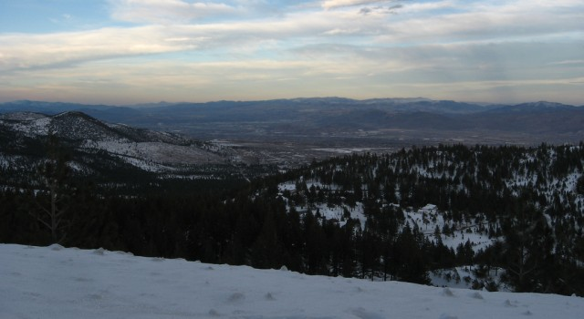 View from Mount Rose
