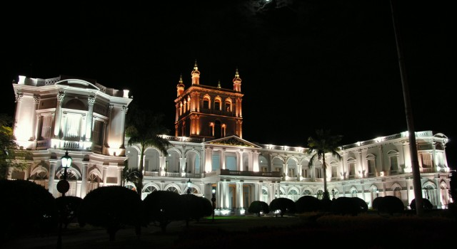 Palacio de los Lopez in Asuncion