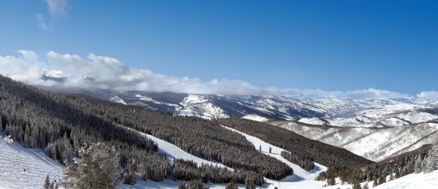 Vail Ski Resort panorama