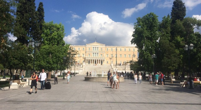 The Syntagma Square