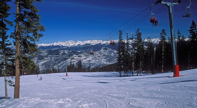 The summit at Beaver Creek Ski Resort