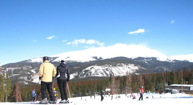 Skiing in Breckenridge, Colorado