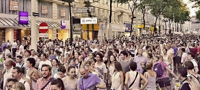 Pro Refugee march in Vienna, Austria, 31 August, 2015 @The Apex Archive
