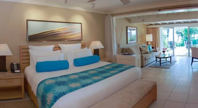 Junior Suite at Elbow Beach resort