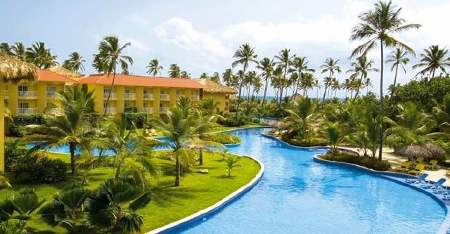 Pool view at Dreams Punta Cana