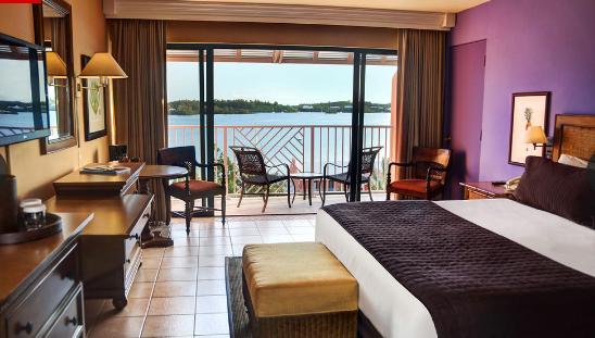 Room at Grotto Bay Beach Resort
