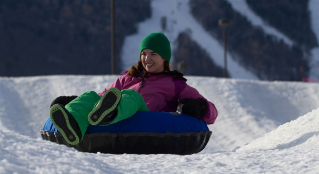 Tubing at Killington Ski Resort