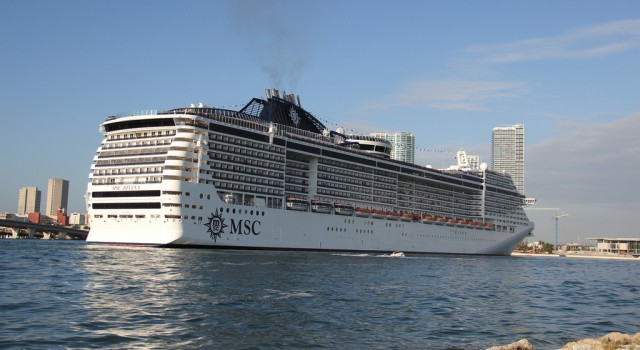 MSC Divina cruise ship