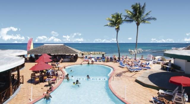 Pool at Royal Decameron Club Caribbean