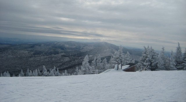 View at Stowe Mountain Resort