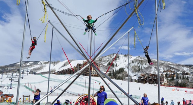 Coca Cola Adventure Zone at Steamboat Ski Resort