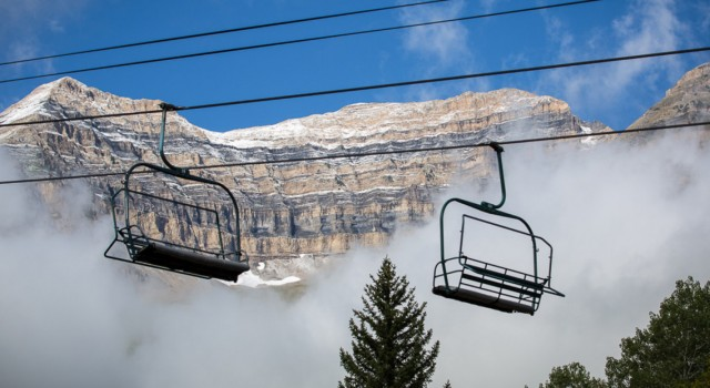 Ski lift at Sundance Mountain